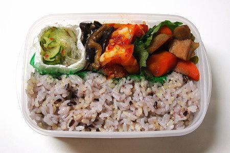 カラダにいい玄米黒米入りご飯のミックス弁当