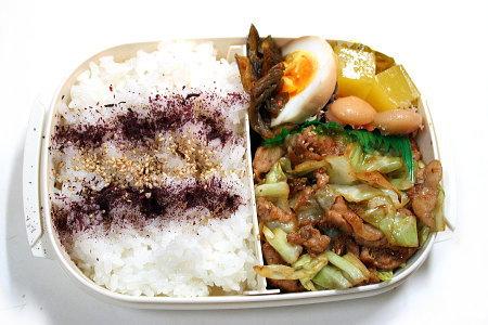 回鍋肉のお弁当