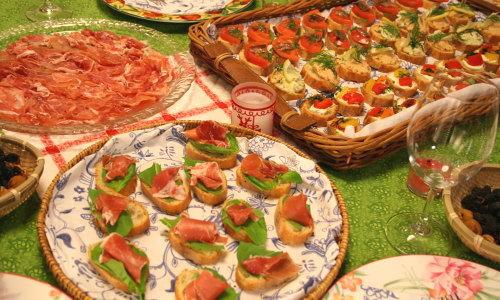 スペイン料理でメリークリスマス!!ハモンセラーノとピンチョス