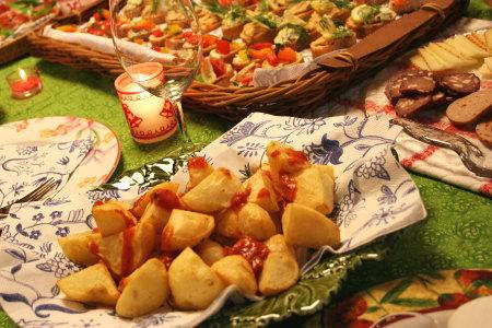 スペイン風フライドポテト