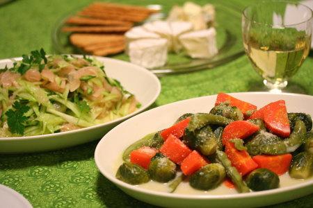お野菜いっぱい!
