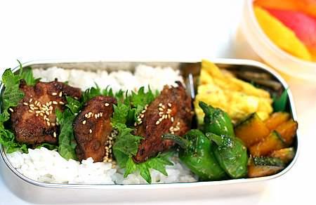 カツオの生姜醤油焼き弁当