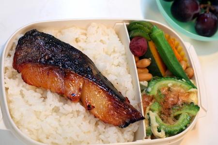 魚久の粕漬けのお弁当