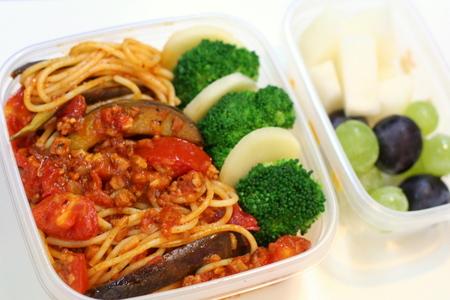 ミートソース・スパゲッティのお弁当
