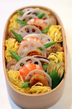 ちらし寿司のお弁当